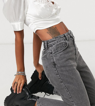 Reclaimed Vintage The '89 slim tapered leg jean in vintage gray wash