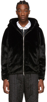 Random Identities Black Otter Zip-Up Hoodie