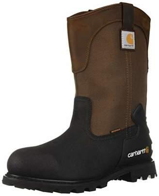 Carhartt Men's CSA 11-inch Wtrprf Insulated Work Wellington Steel Safety Toe CMR1899 Industrial Boot