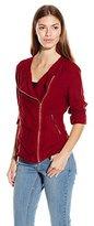 Lucky Brand Women's Unconstructed Shrunken Jacket