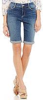 NYDJ Roll-Cuff Bermuda Shorts