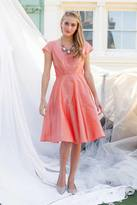 Shabby Apple Bleecker Dress Peach