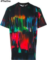 Y-3 hand painted effect T-shirt