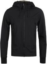 Cp Company Black Soft Shell Goggle Jacket