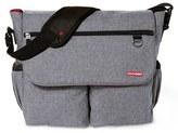 Skip Hop Infant 'Dash Signature' Messenger Diaper Bag - Grey