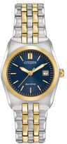 Citizen Eco-Drive Corso Womens Two-Tone Stainless Steel Bracelet Watch EW2294-53L