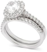 Macy's Diamond Halo Bridal Set (2 ct. t.w.) in 14k White Gold
