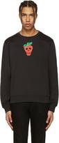 Paul Smith Black Strawberry Skull Pullover