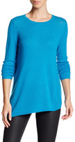Magaschoni Long Sleeve Asymmetrical Cashmere Pullover