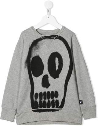 Nununu skull print sweatshirt
