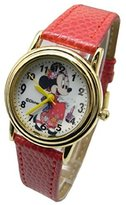 "Disney Minnie Mouse In Japan. Watch For Girls .Large Analog Dial. 9""L Band."