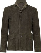 AllSaints Men's Huxton Leather Jacket