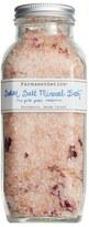 Farmaesthetics Pink Petal Roses Solar Salt Mineral Bath