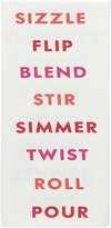 Kate Spade Sizzle, Simmer, Stir Kitchen Towel - Warm