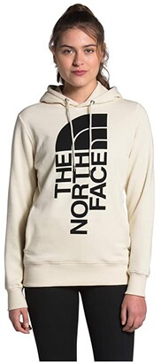 The North Face Trivert Pullover Hoodie (Vintage White) Women's Sweatshirt