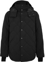 Canada Goose Webster Black Quilted Shell Jacket