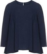 Isolde Roth Plus Size Linen cotton A-line blouse