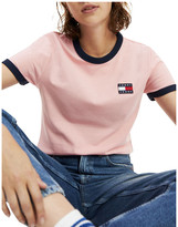 Tommy Jeans Tommy Badge Retro Recycled Cotton T-Shirt