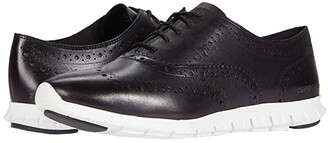 Cole Haan Zerogrand Wing Oxford Closed Hole (Ironstone) Women's Shoes