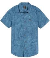 RVCA Men's Grid Woven Shirt