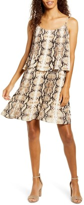 Gibson X City Safari Tara Pleated Popover Dress