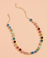 Brooks Brothers Rainbow Rhinestone Necklace