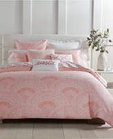 Charter Club Damask Designs Supima Cotton 2-Pc. Poppy Patchwork Medallion-Print Twin Duvet Cover Set
