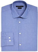 John Varvatos Dobby Stripe Stretch Slim Fit Dress Shirt