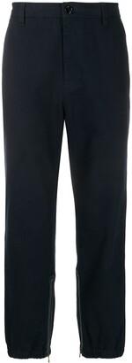 Gucci Side Stripe Straight-Leg Trousers