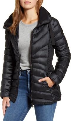 Bernardo Packable Water Resistant Puffer Jacket