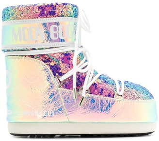 Moon Boot Sequinned Moon Boots