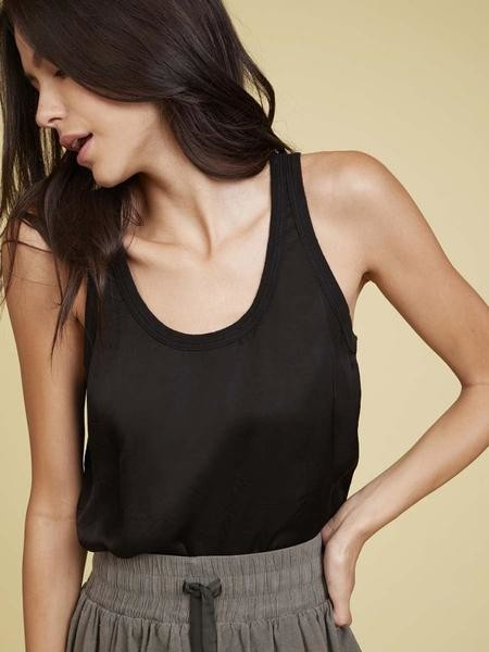 Nation Ltd. The Jojo Relaxed Top In Black - XS