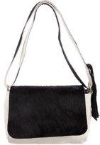 Clare Vivier Ponyhair & Leather Crossbody Bag