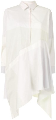 Marques Almeida Flared Hem Shirt Dress
