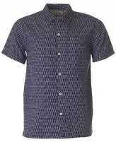 Universal Works Short Sleeved Ikat Road Shirt
