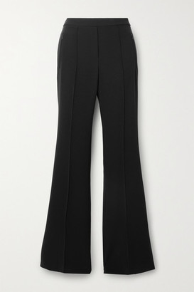 Theory Demitria Crepe Flared Pants - Black