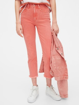 Gap High Rise Cigarette Jeans with Secret Smoothing Pockets