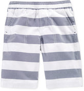 Epic Threads Little Boys' Rugby Stripes Shorts, Only at Macy's