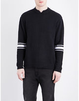 Cheap Monday Wannabe Stripe-detail Knitted Jumper
