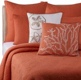 Bed Bath & Beyond Solid Seashell Coral King Pillow Sham