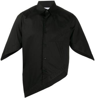 Xander Zhou Asymmetric Hem Shirt