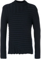 Jil Sander knitted ribbed jumper - men - Polyamide/Wool - 48