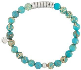 Tateossian Beaded Disc-Detail Bracelet