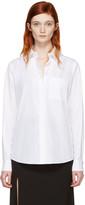 Lanvin White Logo Shirt