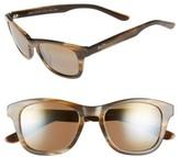 Maui Jim Women's Ka'A Point 51Mm Polarizedplus2 Sunglasses - Blue/ Neutral Grey