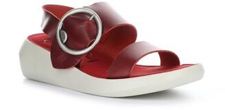 Fly London Bani Wedge Ankle Strap Sandal