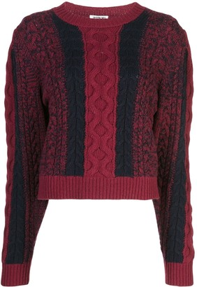 Jason Wu Cable Knit Jumper