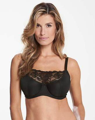 Pretty Secrets Ivy Lace Black Cami Bra
