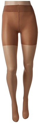 Wolford Luxe 9 Control Top Tights (Gobi) Control Top Hose
