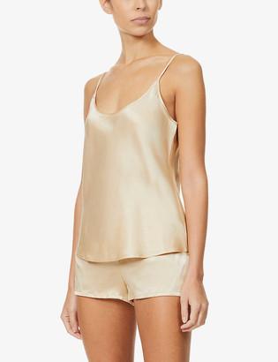 La Perla Silk Essence shorts silk-satin pyjama set